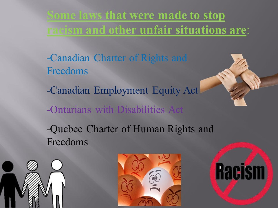 an overview of the canadian employment equity act